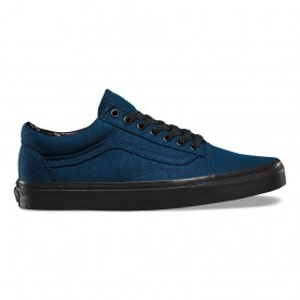 Black Sole Old Skool in Dress Blues