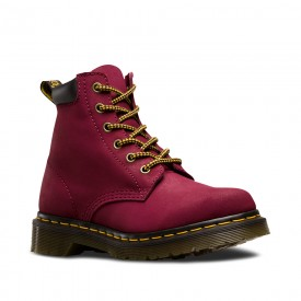 Dr. Martens 939 in Deep Red Greasy Suede