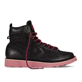Converse Pro Field Hi in Black/Red