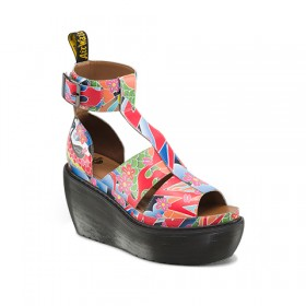 Dr. Martens Bessie in Multi Psych Tattoo Softy T
