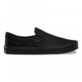 Vans Canvas Slip-On Lite in Black/Black