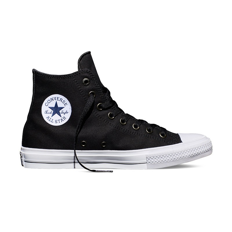 Converse Chuck Taylor All Star II Hi Scarpe Black White 150143c Sneaker Chucks