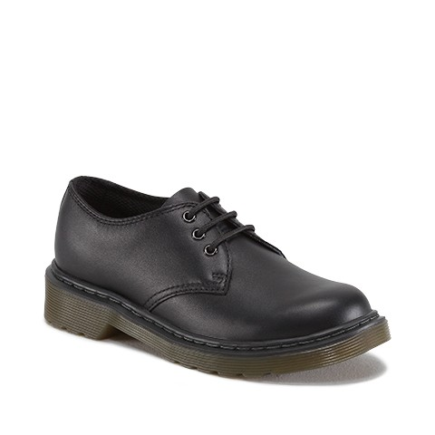 Dr. Martens Everly Kids in Black  Softy T