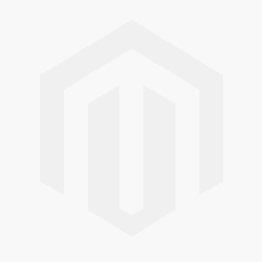 One Star Perforated Leather Low Top in Black