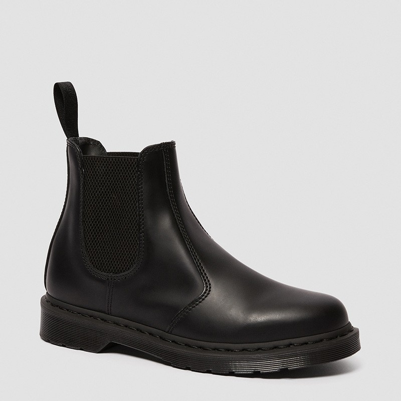 Dr. Martens 2976 Mono Smooth Leather Chelsea Boots in  Smooth
