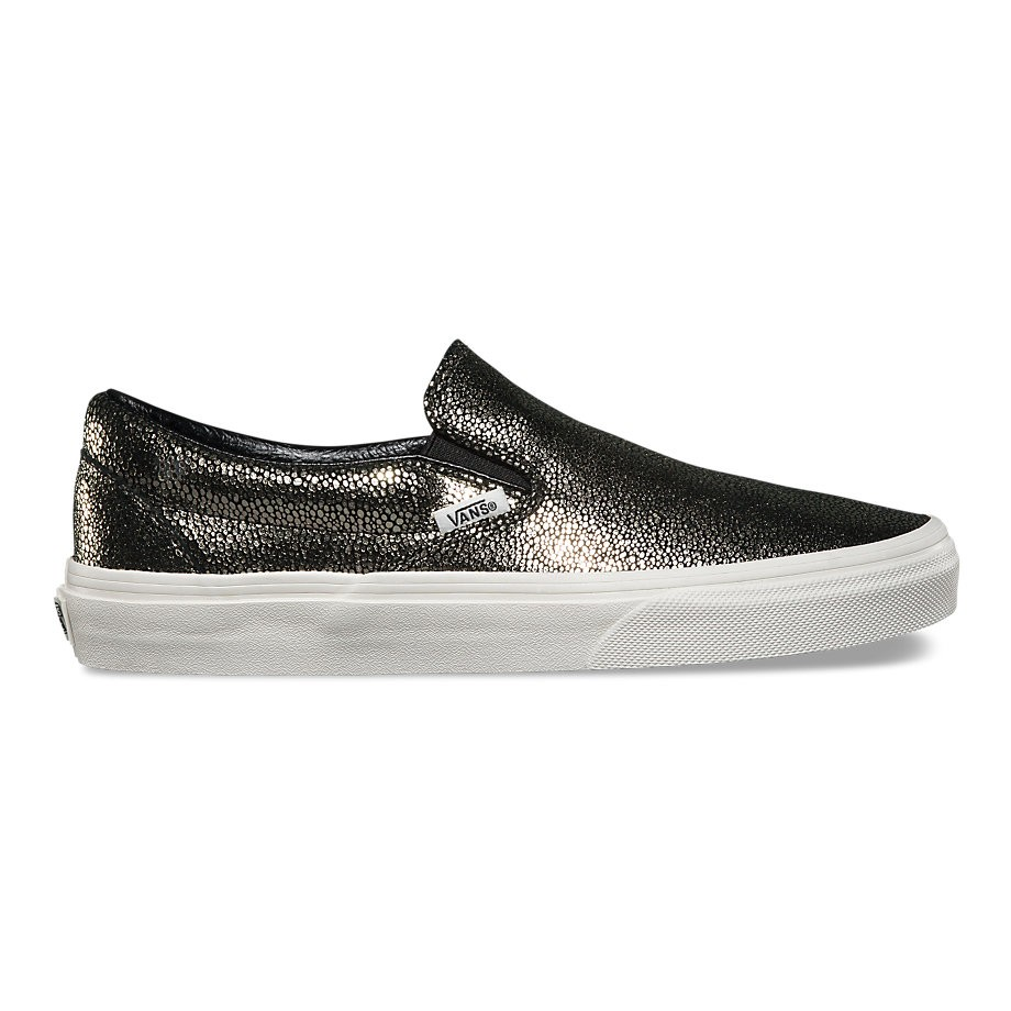 8bc27d657d Gold Dots Classic Slip-on In Gold blanc De Blanc Vans Gold blanc De Blanc  0a33tbly3