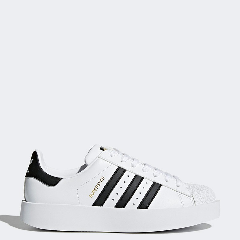 0ac4c5efb905 Women s Superstar Bold Platform In White core Black gold Adidas White core  Black gold ba7666