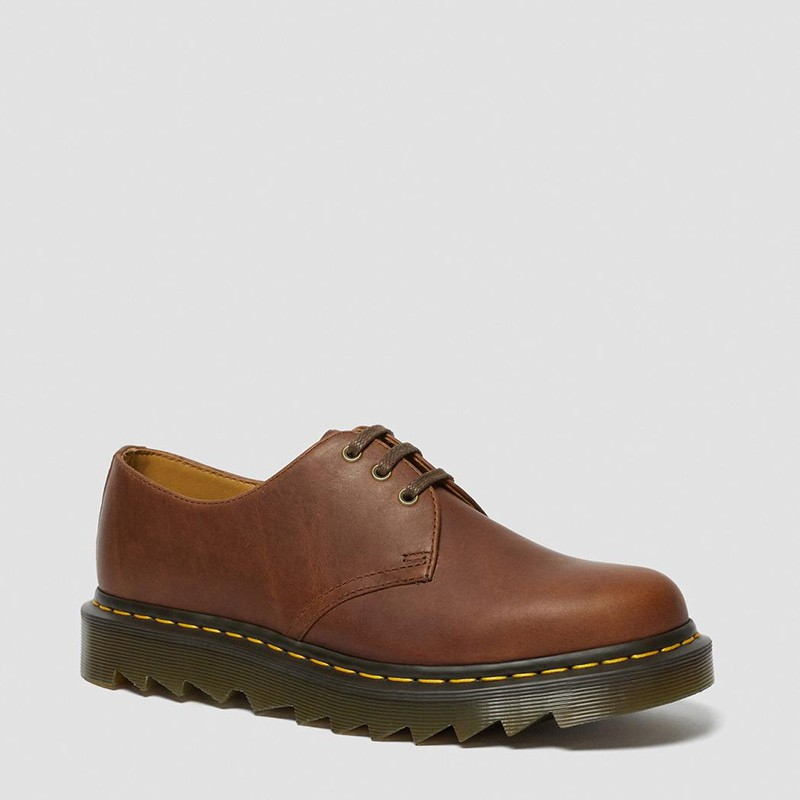 Dr. Martens 1461 Ziggy Leather Oxford Shoes in Tan