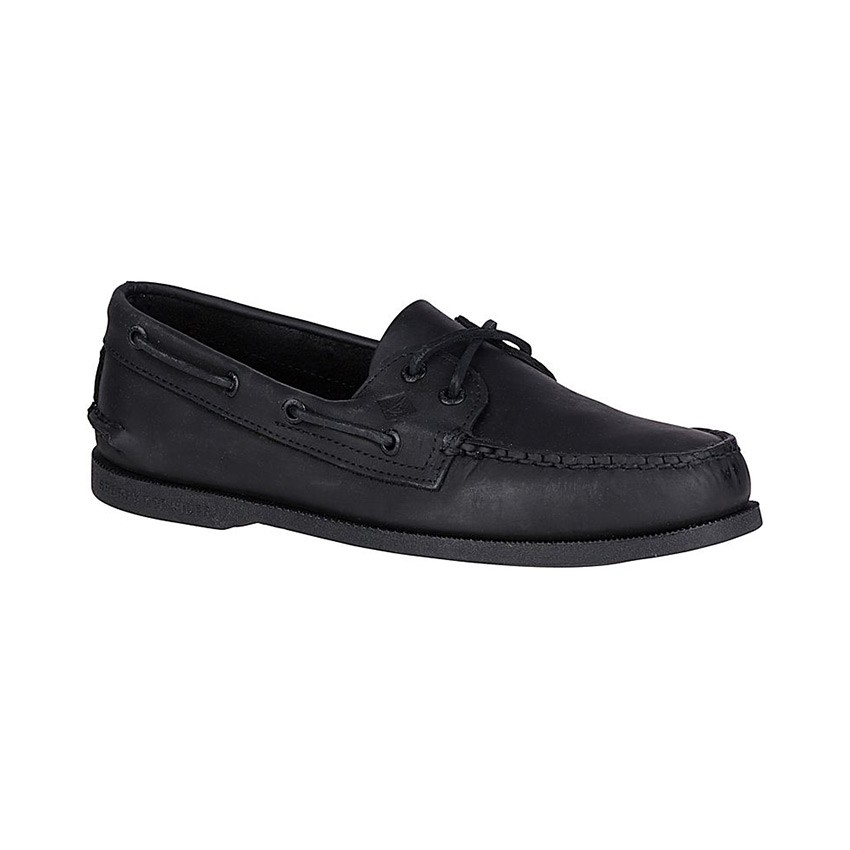 Sperry Men's Authentic Original Boat Shoe in Black