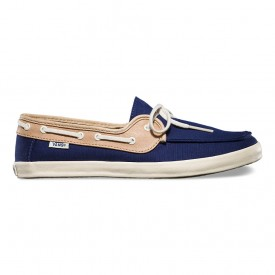 Chaufette in Patriot Blue/Tan