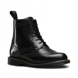 Dr. Martens Delphine Smooth in Black