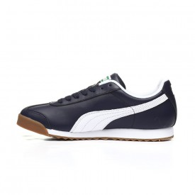 Puma Men's Roma Classic in Peacoat/Puma White