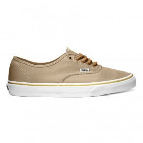 Vans Authentic Brushed Twill in Incense Beige