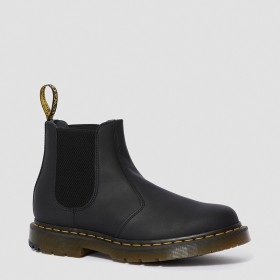 Dr. Martens 2976 DM'S Wintergrip Chelsea Boots in Black Snowplow Wp