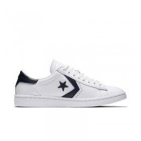 Converse Pro Leather LP Low Top in White/Obsidian/White