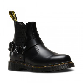 Dr. Martens Wincox Black Polished Smooth