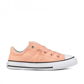 Converse Chuck Taylor All Star Madison Low Top Little/Big Kids in Pale Coral/Dried Bamboo/White