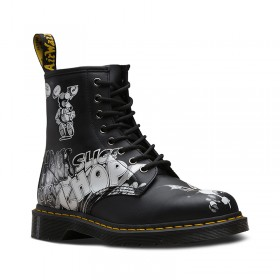 Dr. Martens 1460 Rick Griffin in Black