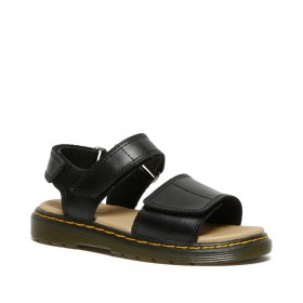 Dr. Martens Junior Romi Sandals in Black
